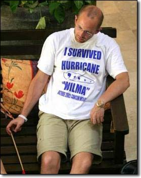 Hurricane Wilma survivor